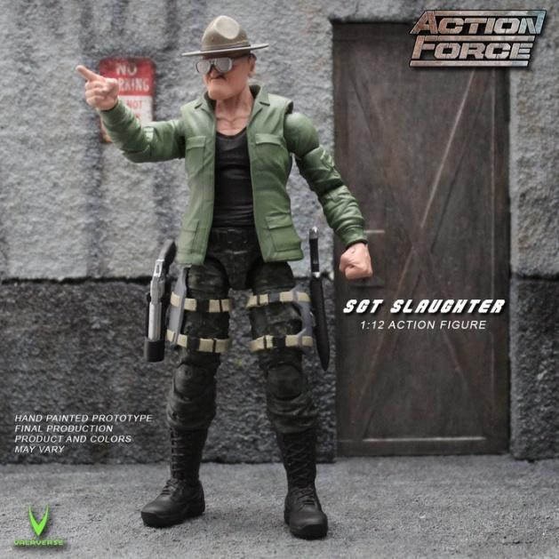 ValaVerse Action Force Sgt Slaughter Pre Order - Surveillance Port 01