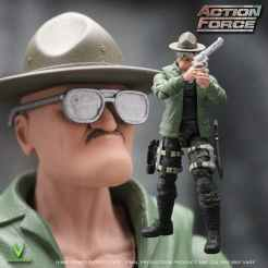 ValaVerse Action Force Sgt Slaughter Pre Order - Surveillance Port 02