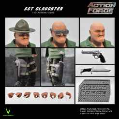 ValaVerse Action Force Sgt Slaughter Pre Order - Surveillance Port 03