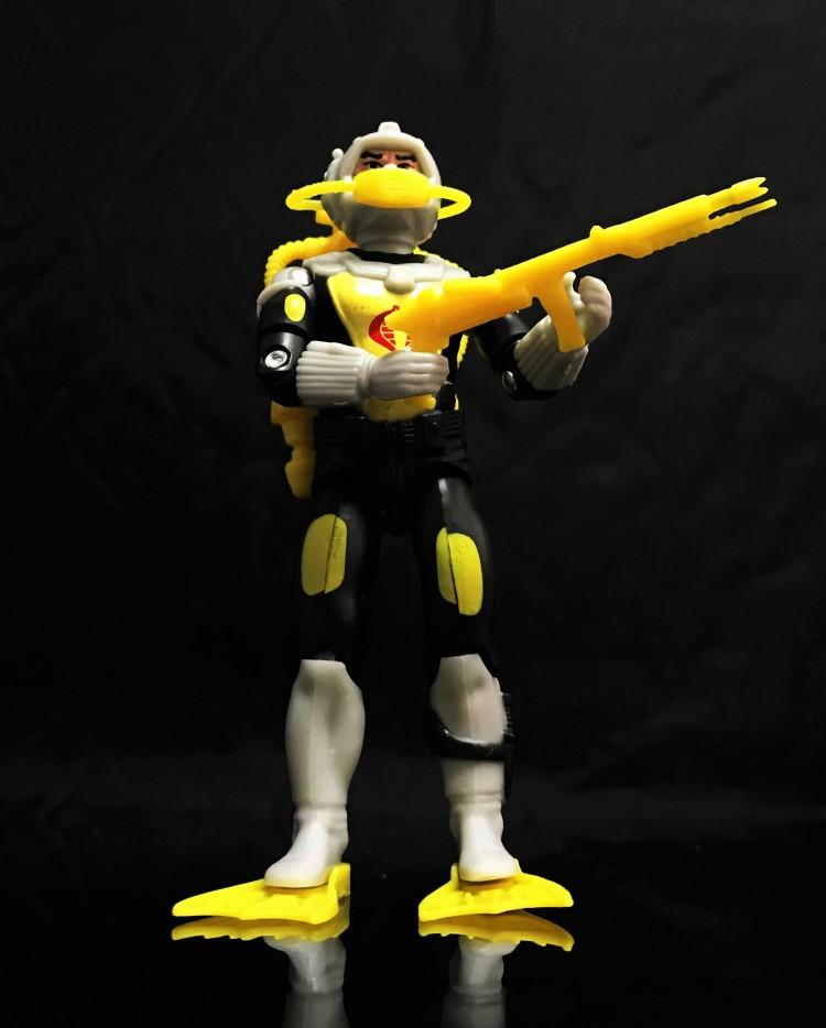Black Major Toys 2020 Cobra Eel De Aco - Surveillance Port 01