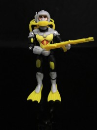 Black Major Toys 2020 Cobra Eel De Aco - Surveillance Port 02
