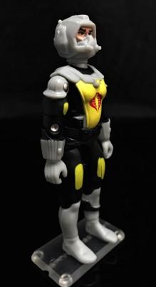 Black Major Toys 2020 Cobra Eel De Aco - Surveillance Port 12
