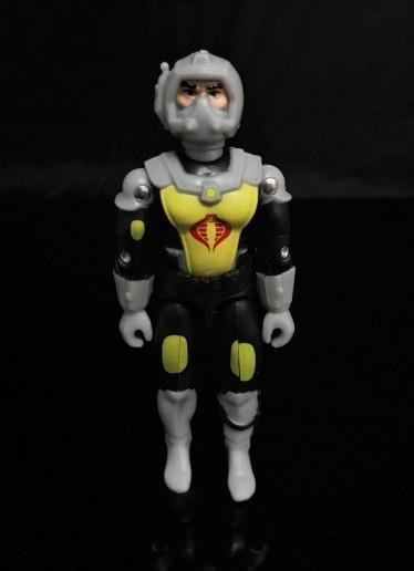 Black Major Toys 2020 Cobra Eel De Aco - Surveillance Port 13