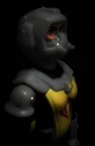 Black Major Toys 2020 Cobra Eel De Aco - Surveillance Port 16