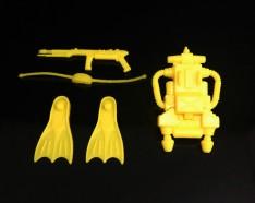 Black Major Toys 2020 Cobra Eel De Aco - Surveillance Port 20