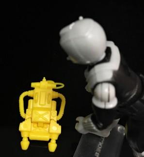 Black Major Toys 2020 Cobra Eel De Aco - Surveillance Port 21