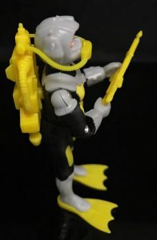 Black Major Toys 2020 Cobra Eel De Aco - Surveillance Port 25