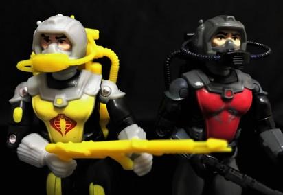 Black Major Toys 2020 Cobra Eel De Aco - Surveillance Port 26