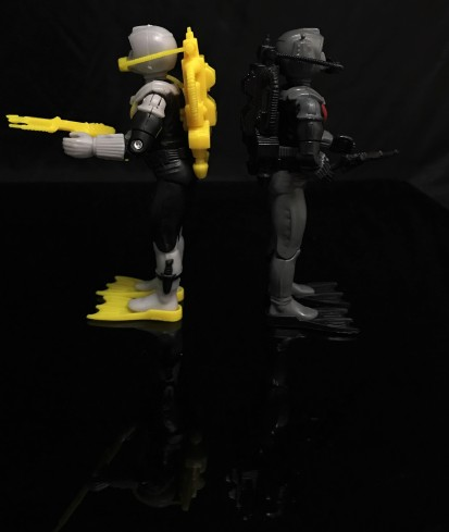 Black Major Toys 2020 Cobra Eel De Aco - Surveillance Port 27