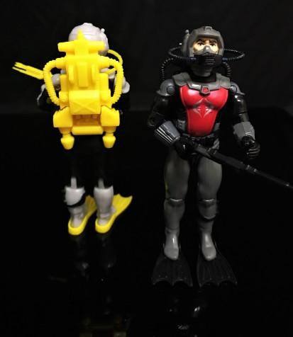 Black Major Toys 2020 Cobra Eel De Aco - Surveillance Port 28