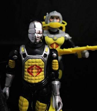 Black Major Toys 2020 Cobra Eel De Aco - Surveillance Port 30