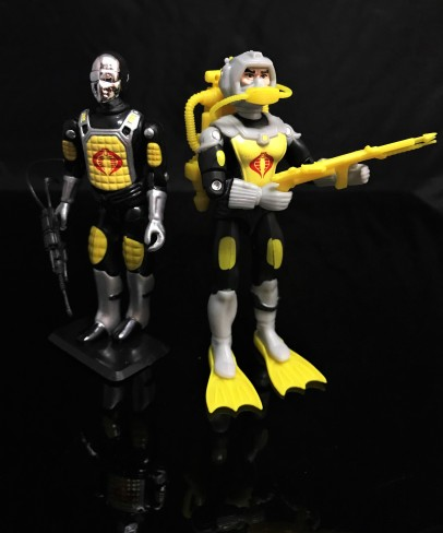 Black Major Toys 2020 Cobra Eel De Aco - Surveillance Port 31
