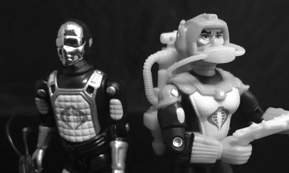 Black Major Toys 2020 Cobra Eel De Aco - Surveillance Port 32