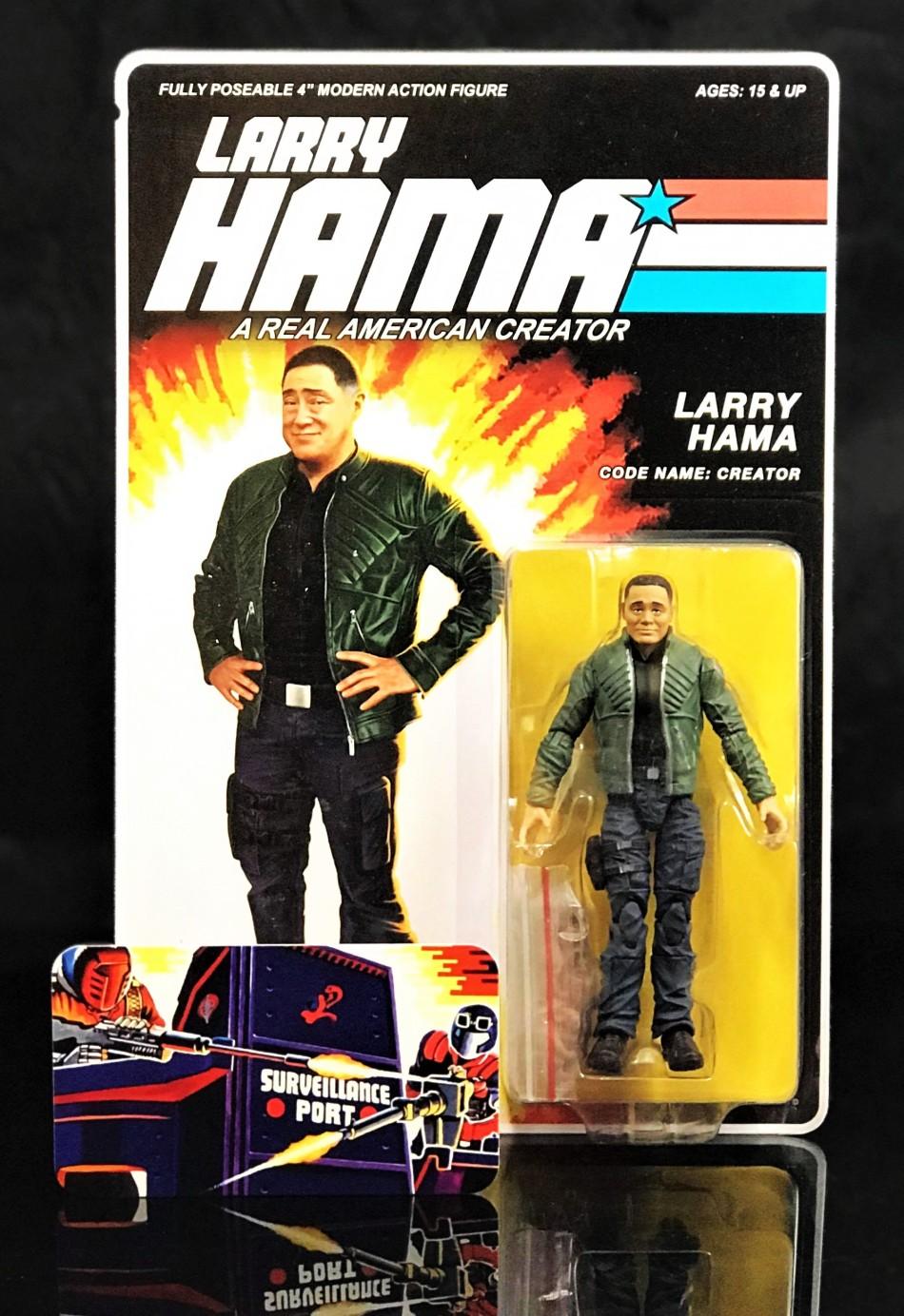 Fresh Monkey Fiction Larry Hama Action Figure - Surveillance Port 02