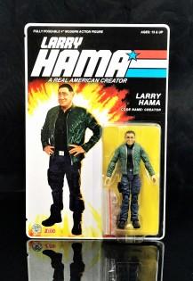 Fresh Monkey Fiction Larry Hama Action Figure - Surveillance Port 03