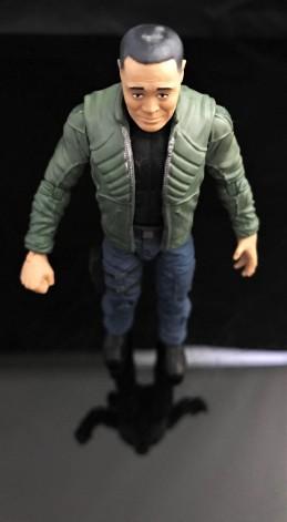 Fresh Monkey Fiction Larry Hama Action Figure - Surveillance Port 14