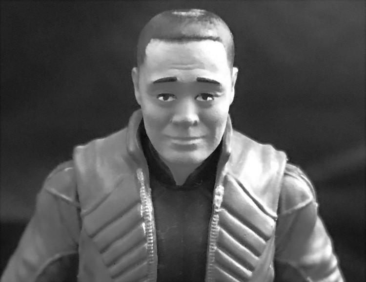 Fresh Monkey Fiction Larry Hama Action Figure - Surveillance Port 25