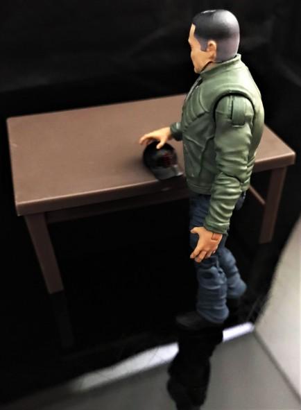 Fresh Monkey Fiction Larry Hama Action Figure - Surveillance Port 27