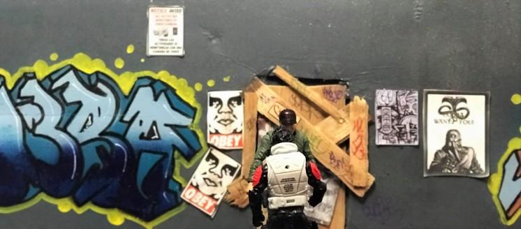 Fresh Monkey Fiction Larry Hama Action Figure - Surveillance Port 32