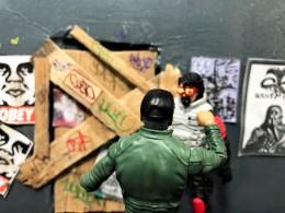 Fresh Monkey Fiction Larry Hama Action Figure - Surveillance Port 35