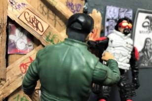 Fresh Monkey Fiction Larry Hama Action Figure - Surveillance Port 36