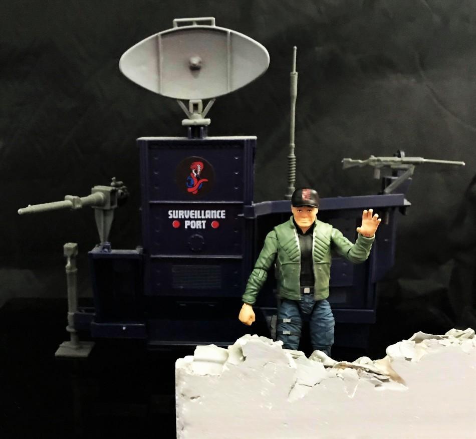 Fresh Monkey Fiction Larry Hama Action Figure - Surveillance Port 37