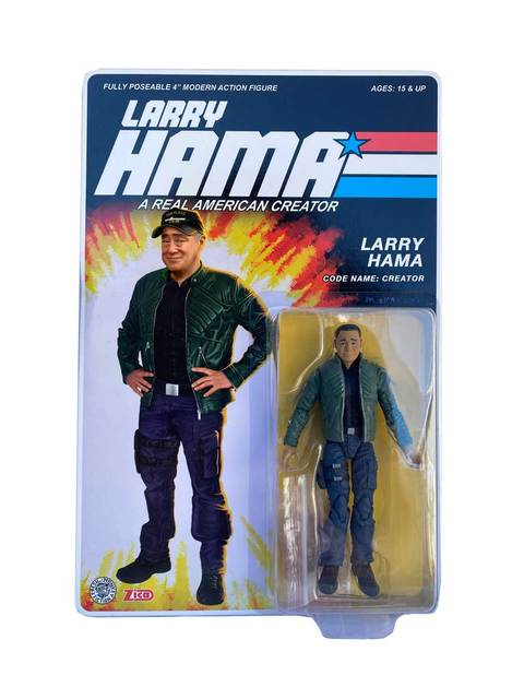 Fresh Monkey Fiction Larry Hama v2 Action Figure - Surveillance Port