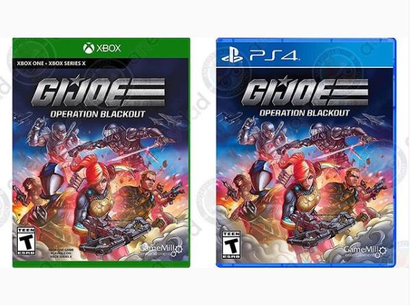 G.I.Joe Blackout Videogame Art - Surveillance Port