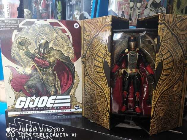 G.I.Joe Classified Serpent Supreme Cobra Commander - Surveillance Port 01
