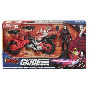 G.I.Joe Classified Special Missions Cobra Island - Cobra Baroness with C.O.I.L. - Surveillance Port 02