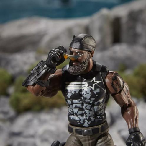 G.I.Joe Classified Special Missions Cobra Island Roadblock - Surveillance Port 01