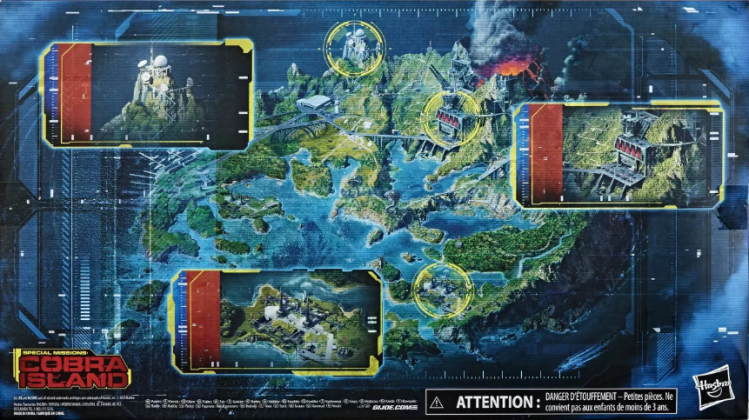 G.I.Joe Classified Special Missions Cobra Island - Surveillance Port
