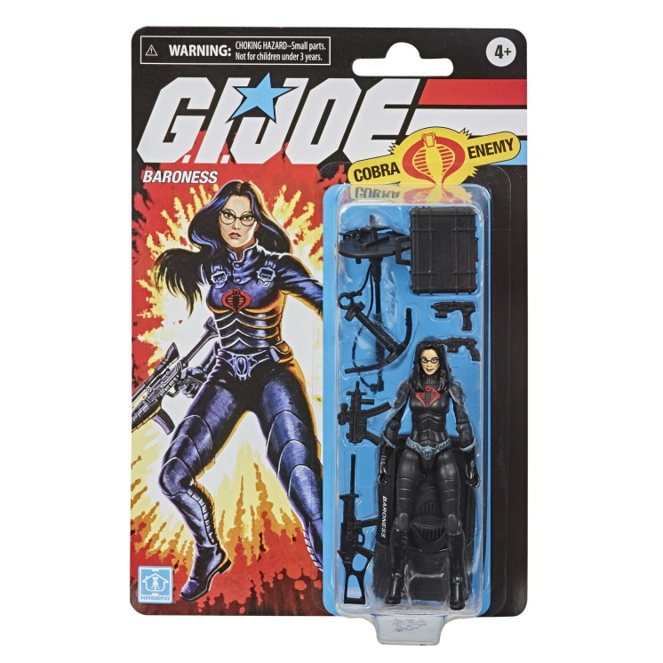 G.I.Joe Retro Cobra Baroness - Surveillance Port 02