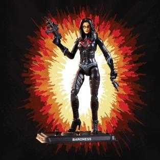 G.I.Joe Retro Cobra Baroness - Surveillance Port 03