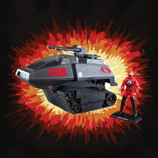 G.I.Joe Retro Cobra H.I.S.S. Tank - Surveillance Port 03
