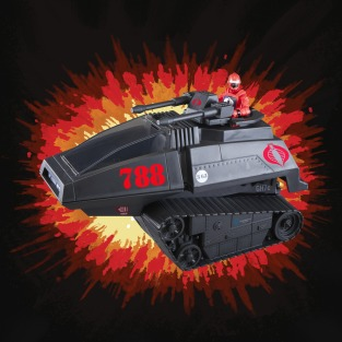 G.I.Joe Retro Cobra H.I.S.S. Tank - Surveillance Port 05