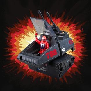 G.I.Joe Retro Cobra H.I.S.S. Tank - Surveillance Port 06