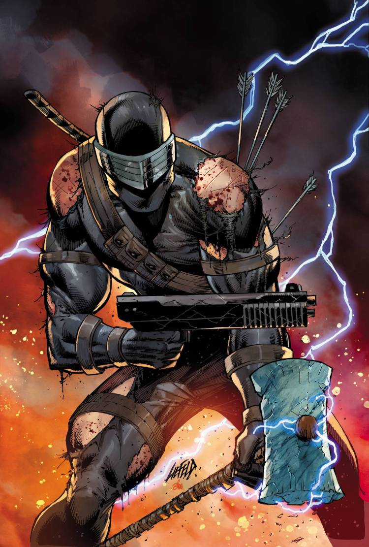 IDW Publishing Snake Eyes Dead Game 4 - Surveillance Port
