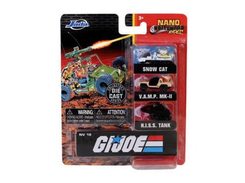 Jada Toys G.I. Joe Nano Hollywood Rides Vehicle 3-Pack - Surveillance Port 01