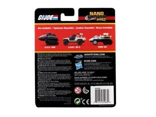 Jada Toys G.I. Joe Nano Hollywood Rides Vehicle 3-Pack - Surveillance Port 02
