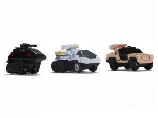 Jada Toys G.I. Joe Nano Hollywood Rides Vehicle 3-Pack - Surveillance Port 05
