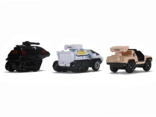 Jada Toys G.I. Joe Nano Hollywood Rides Vehicle 3-Pack - Surveillance Port 07