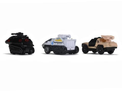 Jada Toys G.I. Joe Nano Hollywood Rides Vehicle 3-Pack - Surveillance Port 09
