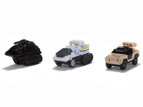 Jada Toys G.I. Joe Nano Hollywood Rides Vehicle 3-Pack - Surveillance Port 10