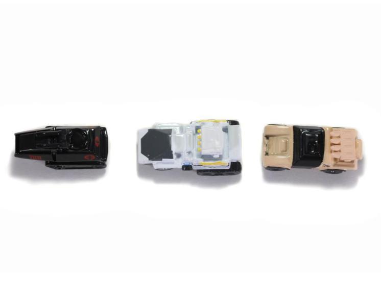 Jada Toys G.I. Joe Nano Hollywood Rides Vehicle 3-Pack - Surveillance Port 12