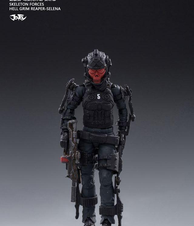 Joy Toy Skeleton Forces-Hell Grim Reaper Selena - Surveillance Port 01