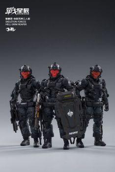 Joy Toy Skeleton Forces-Hell Grim Reaper - Surveillance Port 02