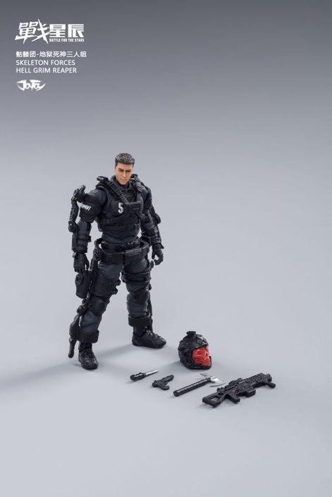 Joy Toy Skeleton Forces-Hell Grim Reaper - Surveillance Port 13