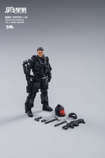 Joy Toy Skeleton Forces-Hell Grim Reaper - Surveillance Port 14