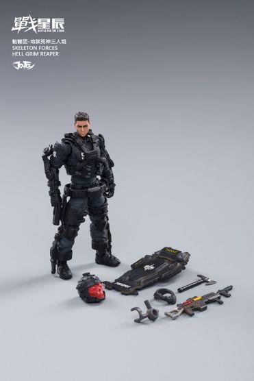 Joy Toy Skeleton Forces-Hell Grim Reaper - Surveillance Port 15